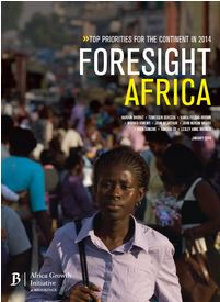Foresight Africa 2014 cover