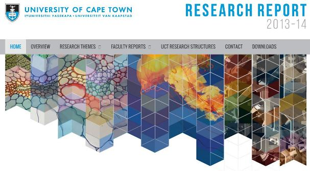 UCT Research Report cover